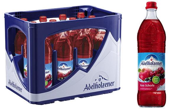 Adelholzener Heim-Rot-Schorle Glas 12x0,75L