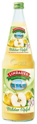 Lindauer Milder Apfelsaft säurearm 06x1,00L