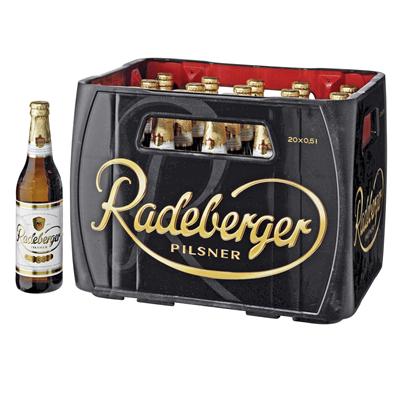 Redeburger Pilsner Glas 20x0,50L