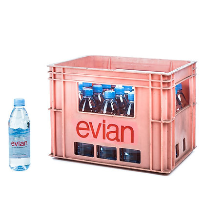 Evian-Premium Mineralwasser PET 20x0,50L