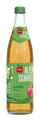Wolfra Alpenschorle Apfel klar 20x0,50L