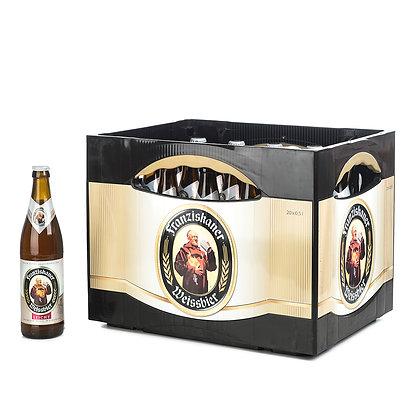 Franziskaner WB-Leicht Glas 20x0,50L