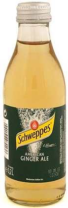 Schweppes Ginger-Ale Glas 24x0,20L