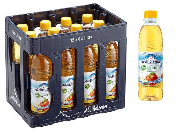Adelholzener BIO-Apfelschorle PET 12x0,50L