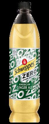 Schweppes American Ginger Ale Zero PET 06x1,00L