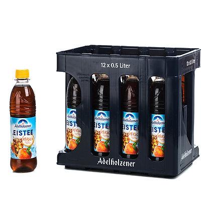 Adelholzener Eistee-Pfirsich PET 12x0,50L