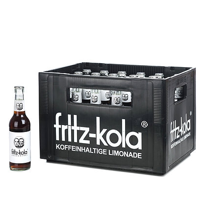 Fritz-Kola Zuckerfrei Glas 24x0,33L