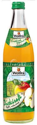 Wolfra Apfelsaft trüb 20x0,50L