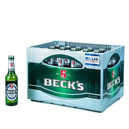 Becks Blue-Alk-Frei Glas 24x0,33L