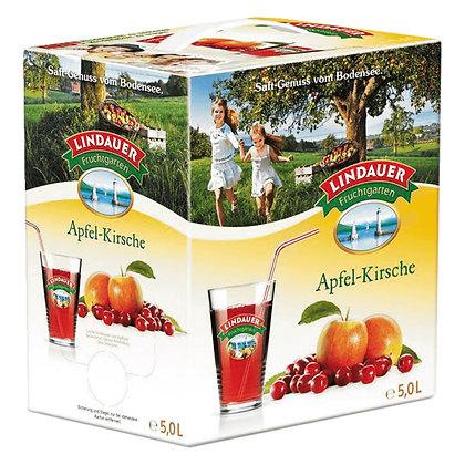 Lindauer Apfel-Kirsche Bag-in-Box 01x5,00L