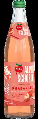 Wolfra Alpenschorle Rhabarber 20x0,50L