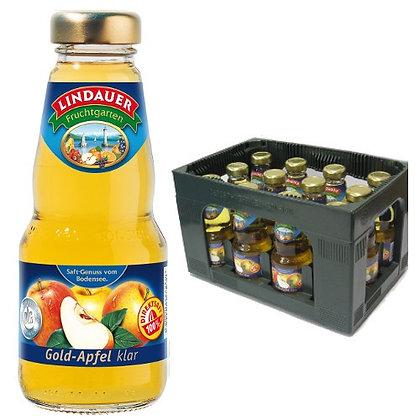 Lindauer Gold-Apfelsaft klar 12x0,20L