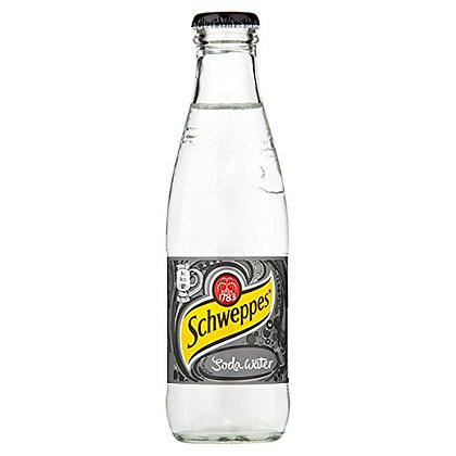 Schweppes Soda-Water Glas 24x0,20L