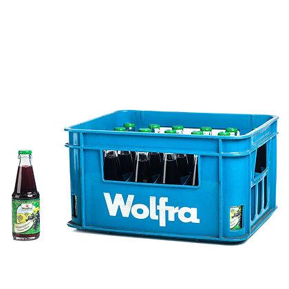 Wolfra Johannisbeer-Nektar schwarz 30x0,20L