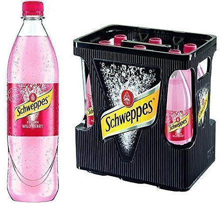 Schweppes Russian Wild Berry PET 06x1,00L