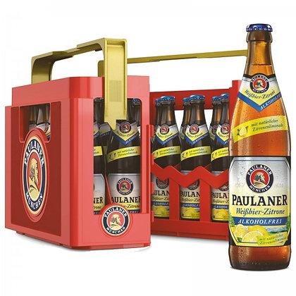 Paulaner WB-Zitrone Alk-Frei Glas 20x0,50L