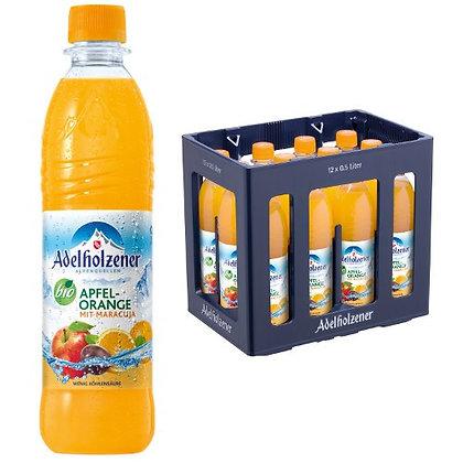 Adelholzener BIO-Apfel-Orange-Maracuja PET 12x0,50L
