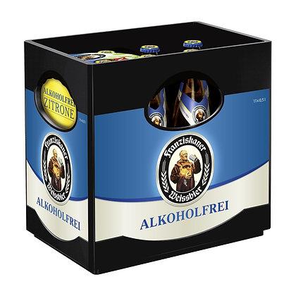 Franziskaner Weissbier Alkoholfrei Zitrone 11er 11x0,50L