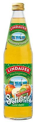 Lindauer Gold-Apfel-Schorle klar 10x0,50L
