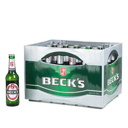Becks Pils Glas 24x0,33L
