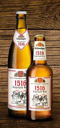 Bayrisch Hell 1516 Glas 24x0,25L