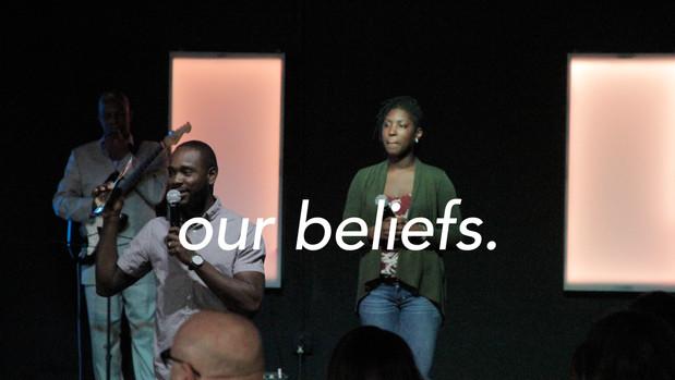 our beliefs.