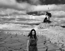 Sarah Rhodes, Girl Under a Stormy Sky, 2020, Digital print on cotton rag, 59cm x 46cm, 1 of 7, $990