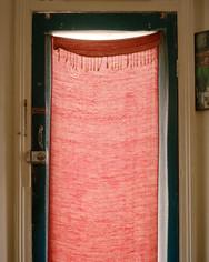 Salmon Curtain, 2019, 20 x 25 cm, framed, Edition 2/3 + 1 AP, Archival print on cotton rag paper