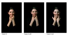 Melita Dahl, Type:happy [(1), (0.98), (0.93)], 2019, Pigment Ink Print on Archival Paper, each 46.4 x 69.9 cm