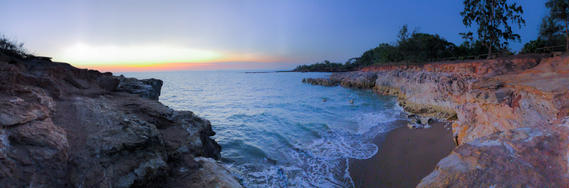 Sunset date at Lee Point Darwin