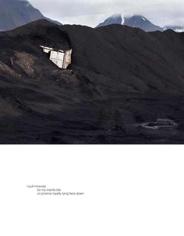 Ellen Dahl: Field Notes from the Edge #18 (2021) Archival pigment print on fibre rag 35 x 45 cm  Stanza Hannah Jenkins' Valley (2021)