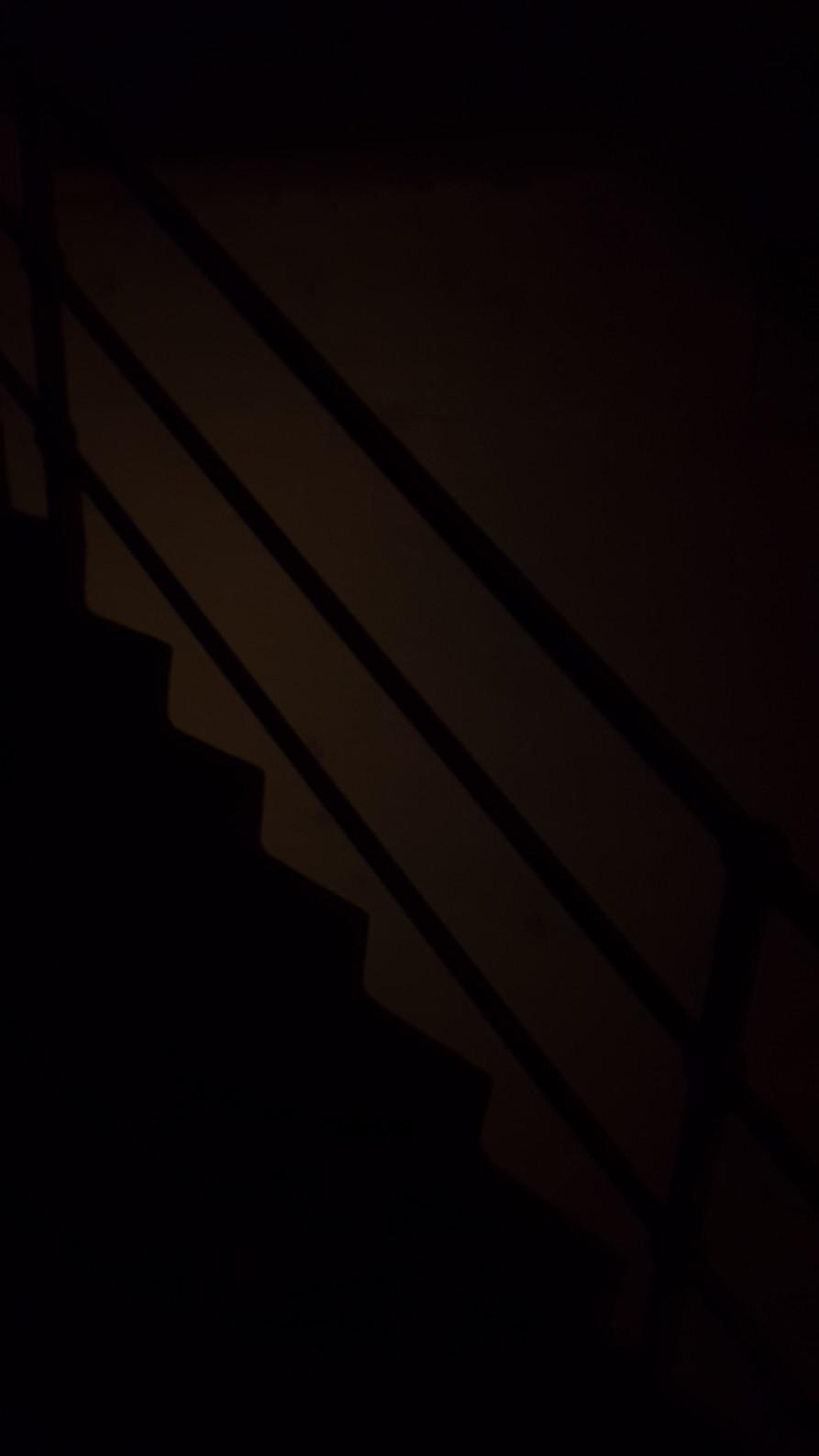 Joe Slater, Stairs, Falling, 2020