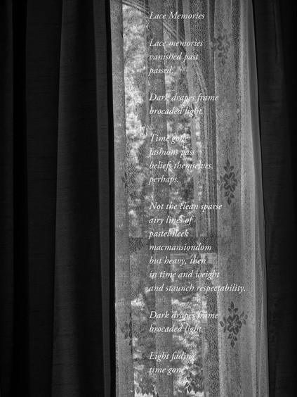 Judy Parker, Brocaded Lace, 2020, inkjet print