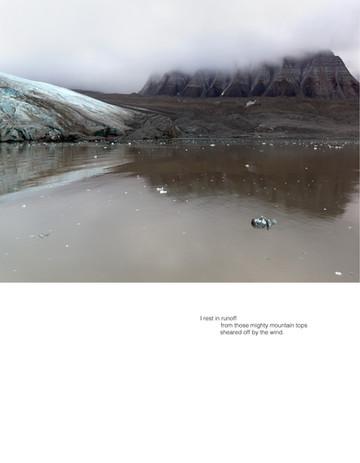 Ellen Dahl: Field Notes from the Edge #21 (2021) Archival pigment print on fibre rag 35 x 45 cm  Stanza Hannah Jenkins' Valley (2021)