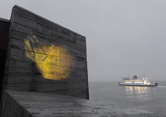 Vic McEwan, Fish Head - Plymouth, 2020