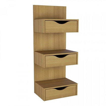Shelving with Drawers @ Closet