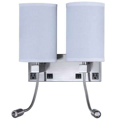 Double Nightstand Sconce