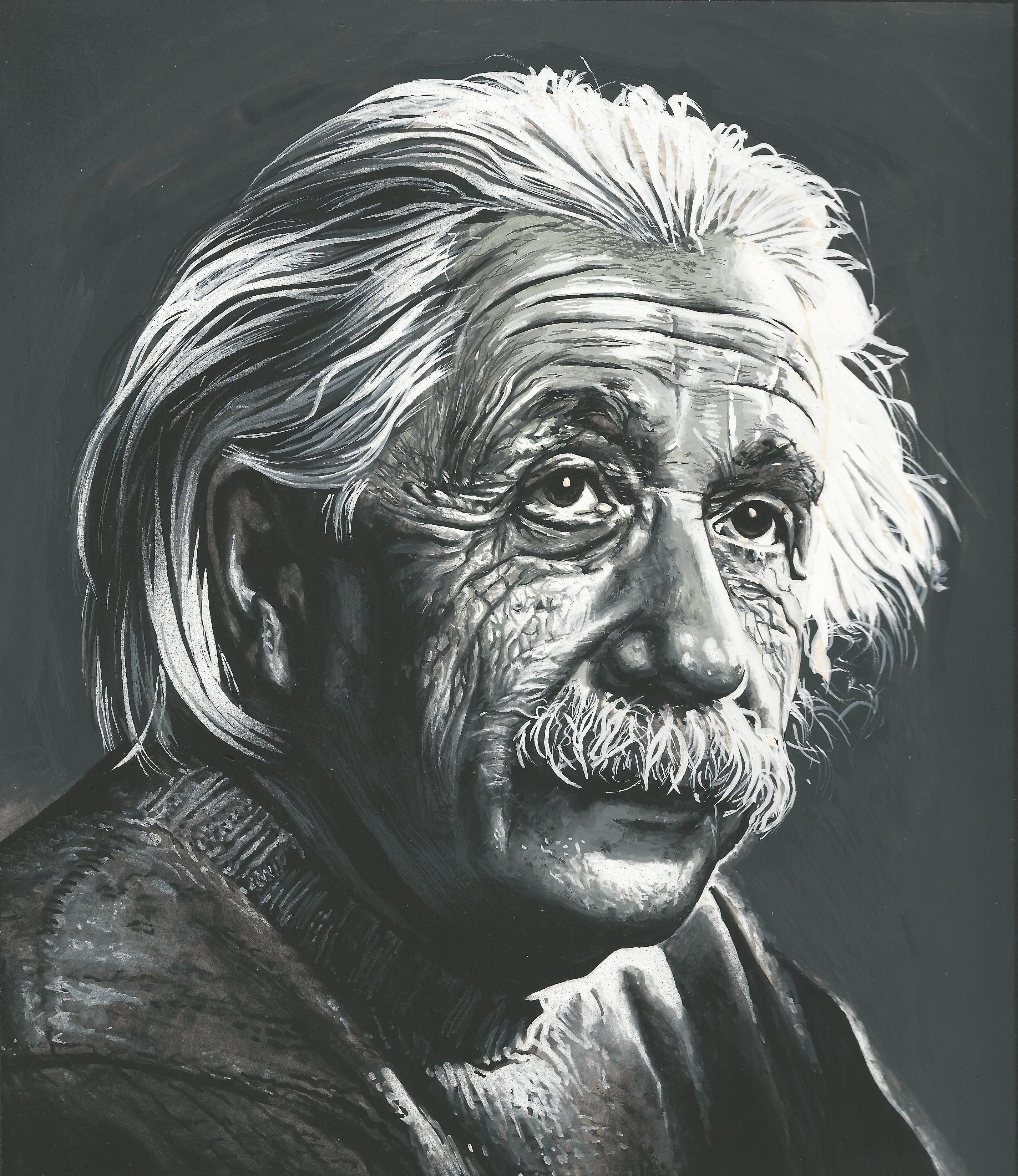Einstein  circa 1974