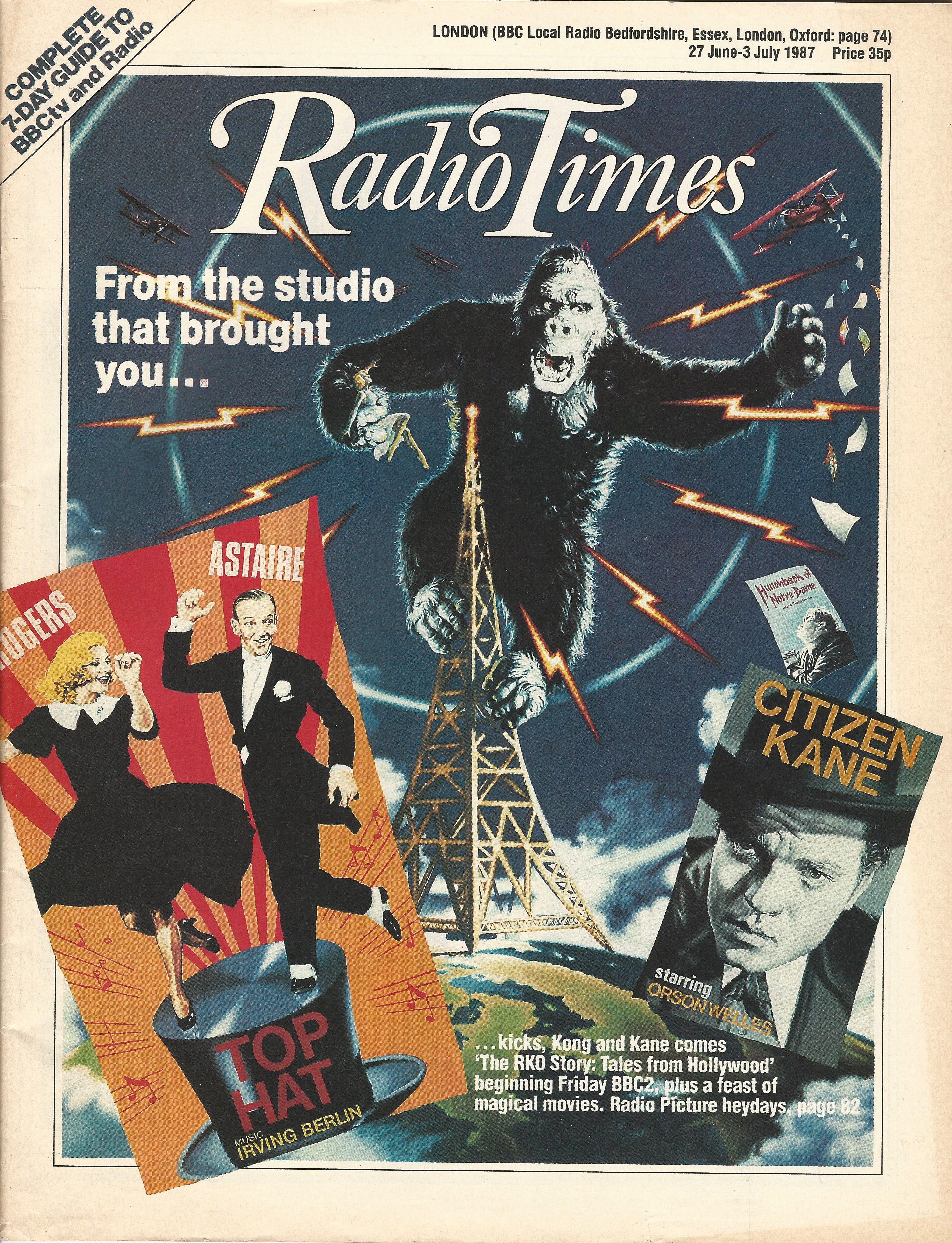RKO Story Radio Times