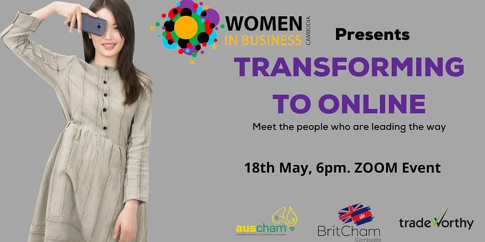 Women in Business Webinar - Transforming to Online