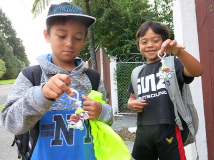 Maoribank School walking school bus makes a come back!