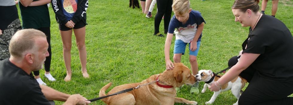 Kenakena School Walk Your Dog to School Day