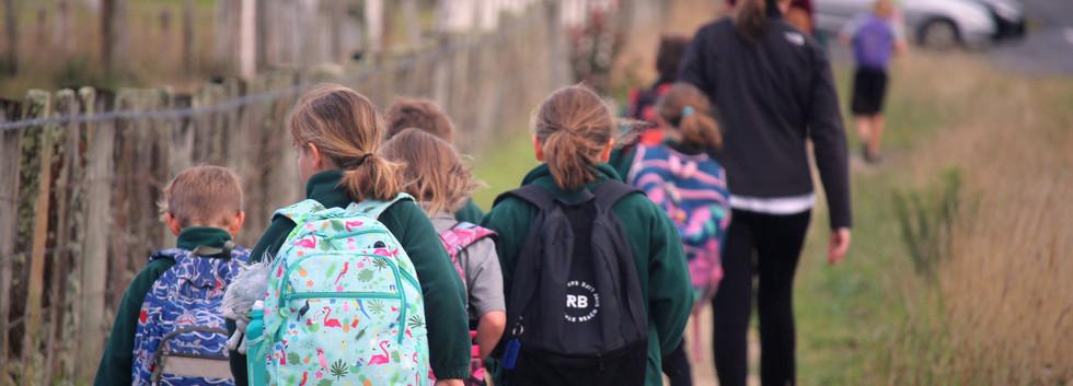 Fernridge School Walking School Bus
