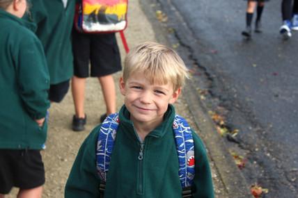 Fernridge School's Country Walking School Bus