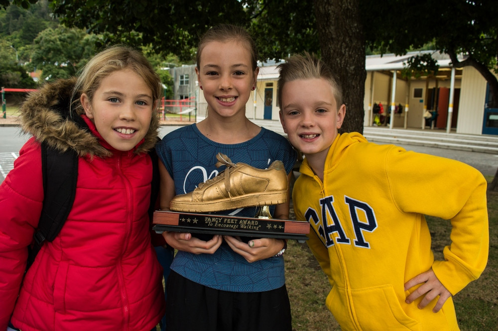 Hutt Central School Golden Foot Award
