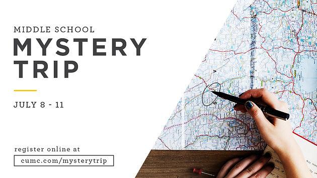 Middle School Mystery Trip | Christ United Methodist Church