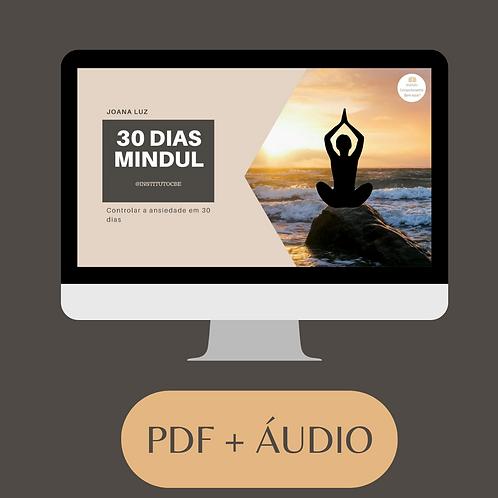 Programa 30 dias Mindful -  Controla Ansiedade em 30 dias