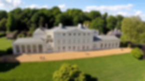 Aerial drone view of Kenwood House