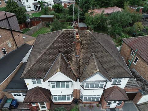 Drone roof survey