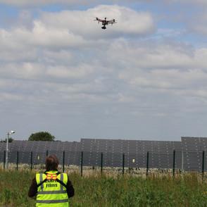Drone Survey on Solar Farm